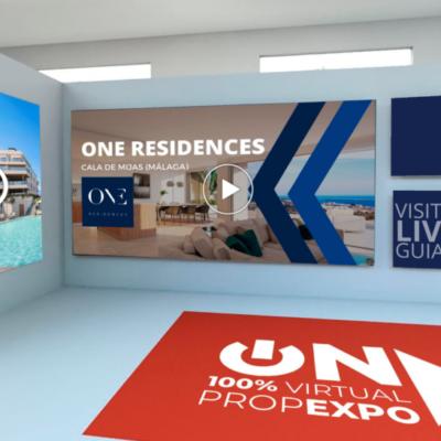 Viviendas de lujo en la costa de Málaga: visita el stand de ONE RESIDENCES en la feria inmobiliaria 100% VIRTUAL – ON EXPO