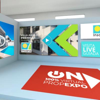 GRUPO INSARA presenta sus viviendas de Villa Amalia PREMIUM y ECO en ON EXPO-Feria inmobiliaria 100% VIRTUAL